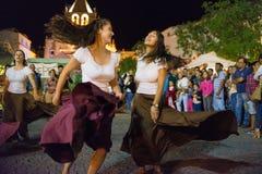 Średniowieczni tancerze, Zdjęcia Stock