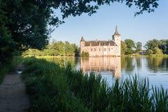 Średniowieczny belga kasztel Obrazy Royalty Free