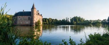 Średniowieczny belga kasztel Fotografia Stock