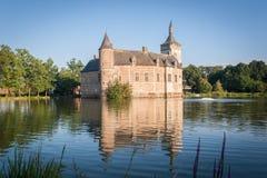 Średniowieczny belga kasztel Fotografia Royalty Free