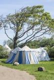 Średniowieczny camping Zdjęcie Royalty Free