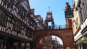 Średniowieczny Chester w Anglia Zdjęcia Royalty Free