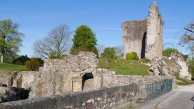 Średniowieczny Domfront Orne Francja Europa Zdjęcie Stock