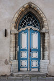 Średniowieczny drzwi fotografia stock