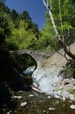 Średniowieczny Elia łuku kamienia Wenecki most, unesco dziedzictwo, Cypr Obrazy Royalty Free