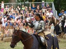 2016 5 Średniowieczny festiwal Zdjęcia Royalty Free