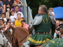 2016 7 Średniowieczny festiwal Zdjęcia Stock