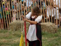 2016 9 Średniowieczny festiwal Fotografia Royalty Free