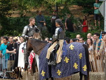 2016 13 Średniowieczny festiwal Zdjęcia Royalty Free