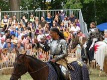 2016 15 Średniowieczny festiwal Obraz Royalty Free