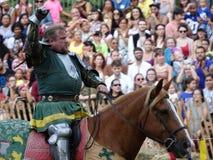 2016 29 Średniowieczny festiwal Zdjęcia Royalty Free