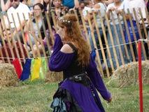 2016 33 Średniowieczny festiwal Obrazy Stock