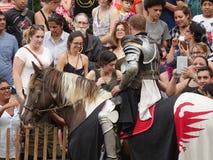2016 52 Średniowieczny festiwal Obrazy Royalty Free