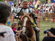 2016 70 Średniowieczny festiwal Zdjęcie Stock