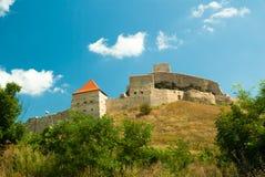 Średniowieczny forteca Rupea, Brasov, Transylvania, Rumunia Obraz Stock