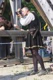 Średniowieczny fotograf Obraz Royalty Free
