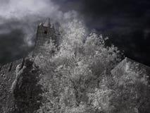 Średniowieczny granitu kasztel Zdjęcia Stock