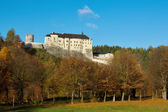 Średniowieczny grodowy czech Sternberk Zdjęcia Royalty Free
