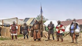 Średniowieczny Grodowy festiwal Zdjęcie Royalty Free