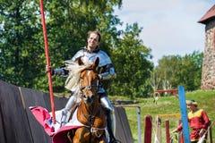 Średniowieczny historyczny festiwal Fotografia Royalty Free