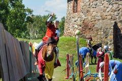 Średniowieczny historyczny festiwal Zdjęcia Stock
