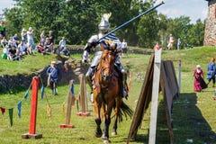 Średniowieczny historyczny festiwal Obraz Royalty Free