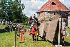 Średniowieczny historyczny festiwal Obraz Stock