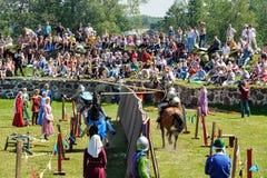 Średniowieczny historyczny festiwal Obrazy Royalty Free