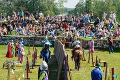 Średniowieczny historyczny festiwal Zdjęcia Royalty Free
