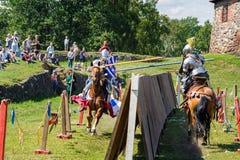 Średniowieczny historyczny festiwal Fotografia Stock