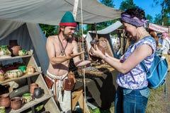 Średniowieczny historyczny festiwal Zdjęcie Stock
