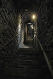 Średniowieczny kamienny schody Zdjęcie Royalty Free