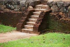Średniowieczny kamienny schody Sri Lanka Fotografia Royalty Free