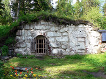 Średniowieczny kamienny zimny magazyn Zdjęcie Royalty Free