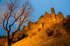 Średniowieczny kasztel Carcassonne w Francja Zdjęcie Royalty Free