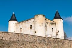 Średniowieczny kasztel Noirmoutier w Francja Zdjęcie Royalty Free