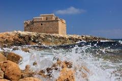 Średniowieczny kasztel Paphos Zdjęcie Royalty Free