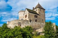 Średniowieczny kasztel w Bedzin, Polska Obraz Royalty Free