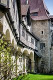 Średniowieczny Kreuzenstein Castel w Austria Obrazy Stock