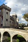 Średniowieczny królowa forteca w Tarascon, Francja. Zdjęcia Royalty Free