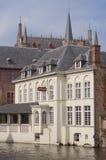 średniowieczny miasteczko Zdjęcia Royalty Free