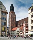 Średniowieczny miasteczko Fotografia Stock