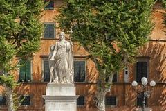 Średniowieczny miasteczko Lucca, Tuscany Zdjęcia Royalty Free