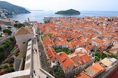 Średniowieczny miasto Dubrovnik zdjęcia stock