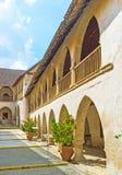 Średniowieczny monaster Obraz Royalty Free
