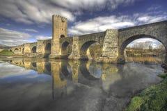 średniowieczny puente Obraz Royalty Free