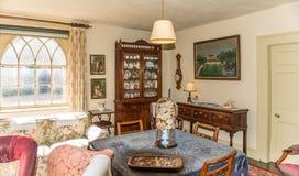 Średniowieczny rezydencja ziemska dom - luksusowy pokój Fotografia Stock