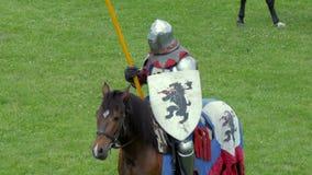 średniowieczny rycerz zbiory