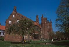 Średniowieczny Stary Hall przy Gainsborough Fotografia Stock