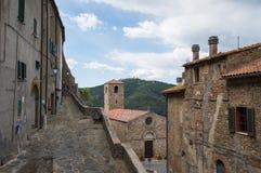 Średniowieczny stary miasteczko Obrazy Stock